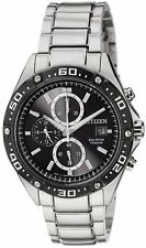 Citizen Eco-Drive Chronograph Titanium Sports Men's Watch CA0030-61E