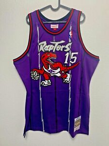 New Vince Carter Toronto Raptors Throwback Mitchell & Ness Swingman Jersey XL