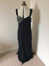 Babara Schwarzer Black Evening Dress 14/16