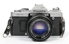 Fujica AX-3 35mm SLR Film Camera with X Fujinon 50mm F1.6 DM EBC lens #647