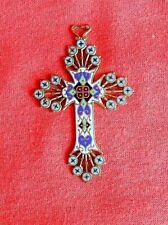 Ancienne croix émaillée
