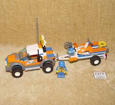 Set LEGO: Città: Guardia costiera: 7737-1 GUARDIA COSTIERA 4x4 & JET SCOOTER (2008) 100%