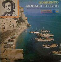 Sorrento Richard Tucker Vintage Vinyl Record LP VG+ ML 5258