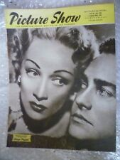 1950 PICTURE SHOW- Marlene Dietrich,Richard Todd in STAGE FRIGHT, 26 Aug