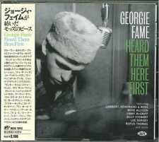 V.A.-GEORGIE FAME HEARD THEM HERE FIRST-JAPAN CD H14