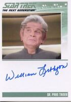 Star Trek TNG Complete Series 2 Autograph Card William Lithgow PranTainer