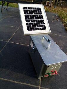 clôture batterie electrificateur solaire - Chapron Leménager BERGER 30