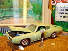 "1969 PONTIAC GTO ""THE JUDGE"" LIMITED EDITION 1/64 M2 1960'S MUSCLE  CAR"