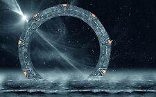 Framed Print - Stargate in the Ocean (Poster Movie Film TV Poster Alien Art)