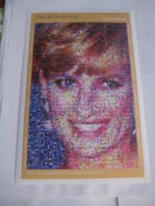 2000 Dominica #2195 The Millenium Photomosaics (Princess Diana) flowers MS - MNH