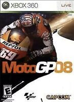 MotoGP '08 Xbox 360 Kids Motorcycle Racing Game Brand New Collectible 2008 Moto