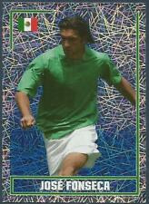 MERLIN-ENGLAND 2006 WORLD CUP- #250-MEXICO-JOSE FONSECA-SILVER FOIL