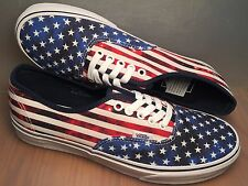 VANS New Authentic Americana 4th of July Vault Mens Size USA 9 UK 8.5 EUR 42