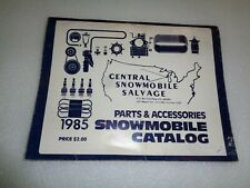 Central Snowmobile Parts And Accessories Catalog