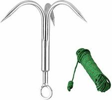 Claw Stainless Steel Outdoor Grappling Hook/Climbing Claw/Gravity Hook/Flying Ti