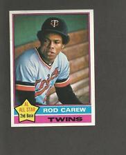 1976 Topps # 400 Rod Carew Minnesota Twins HOF Very Nice All Star Baseball Card