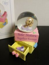 * Precious Moments - 154442 Sole Sisters Together Forever Waterball