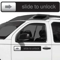 "RETRO Slide to Unlock Magnet  iPhone iPod Car Fridge 17"" Magnet - Big Mouth Inc"