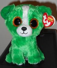 "Ty Beanie Boos - DILL the Gift Show Exclusive Green Dog ~ 6"" ~ 2015 NEW ~IN HAND"
