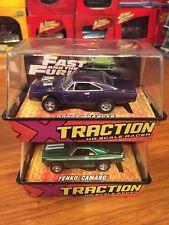 Johnny Lightning HO Slot Cars Yenko Camaro & Dodge Charger. Fast & Furious