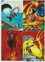 Marvel Masterpieces 1992 Trading Card Loki Moon Knight Mojo Mephisto Skybox