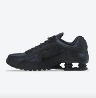 Nike Shox R4 Running Shoes Triple Black White 104265-044 Men's Multi Size NEW