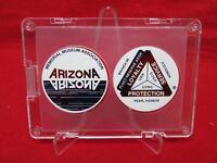Arizona Memorial Museum Association Hawaii Pearl Harbor 1993 pogs set FRAMED!