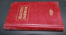 New listing Blasters' Handbook 12th Ed.