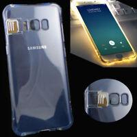 Custodia luminosa cover led flash conduzione luce Samsung Galaxy S8+ Plus G955F