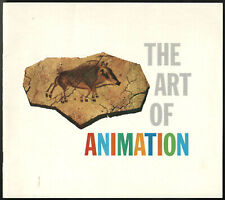 Disney Vintage Art of Animation Exhibit Souvenir Booklet Full Color 1958