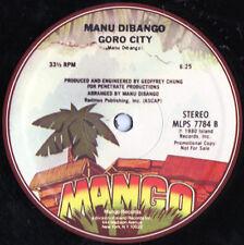 "Manu Dibango – Goro City / Reggae Makossa - Vinyl, 12"""