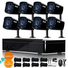 ELEC 8CH 1500TVL 960H DVR Outdoor Home CCTV Night Vision Security Camera System