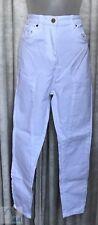 CAMILLA AND MARC White, Harper Drop Crotch, Cotton Jeans Size 25 (72 Cm W) NEW