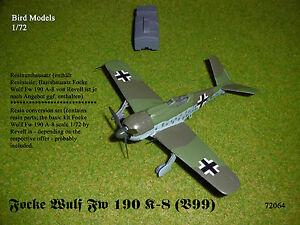 Focke Wulf Fw 190 K-8 (V99) 1/72 Bird Models Resinmischbausatz / mixed resin kit