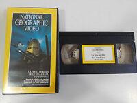 LA FLOTA PERDIDA DE GUADALCANAL PARTE I - VHS TAPE CINTA NATIONAL GEOGRAPHIC