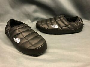 The North Face Men's Traction Mule Slippers Slip-On Black Size 10 NEW WITH TAGS!