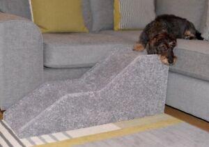 Dog Ramp Handmade Indoor Pet Cat Dog Bed Sofa Steps Stairs Portable Lightweight