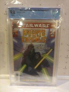 Star Wars Knights Of The Old Republic #1 CBCS 9.8