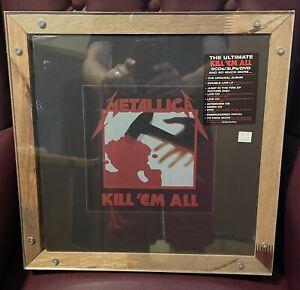 Metallica- Kill Em' All Super Deluxe Box Set Sealed New Mint-