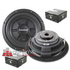 "2 Rockford Fosgate R2SD2-10 Car Subwoofers 10"" Shallow Mount DVC 2-Ohm 800W New"