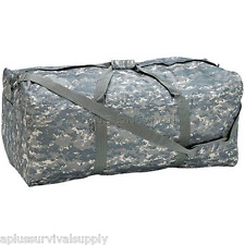 """Extreme Pak Invisible Pattern Digital Camo Water Repellent 39"""" Duffle Bag Tote"""