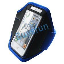 New Blue Sport Gym Armband Cover Case for Apple iPod Touch 5 5G