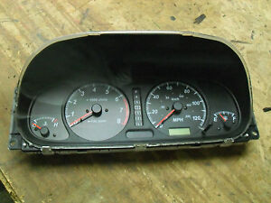 OEM 00 Isuzu Rodeo Digital Instrument Cluster speedo meters gauges automatic