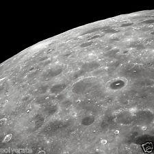 Photo Nasa - Apollo 8 - Face cachée de la Lune et ses nombreux cratères
