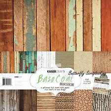 Base Coat #3 Collection 12X12 Scrapbooking Kit Kaisercraft Paper Crafting NEW