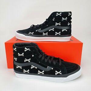 Vans Vault UA OG SK8 Hi LX x WTAPS Bones Men's Trainers Shoes Black UK 9