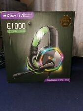 EKSA Gaming Headset with 7.1 Surround Sound Stereo, PS4 USB Headphones