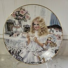 "1989 Norman Rockwell Limited Edition Knowles Plate ""Victoria"" by Corinne Layton"