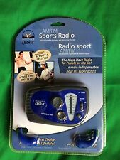 Innovage Outdoor AM/FM Sports Radio Stereo Earphones & Adjustable Armband NEW