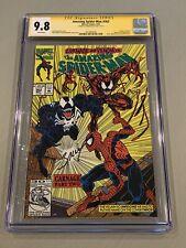 Amazing Spider-Man #362 CGC 9.8 SS MARK BAGLEY Carnage Venom App Marvel Comics🔥